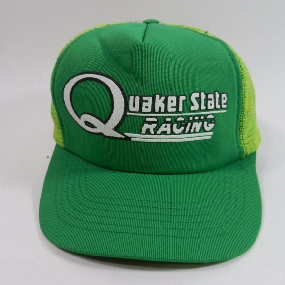 Quaker State Racing Other - Quaker State Racing Hat Mesh Back Trucker Snapback